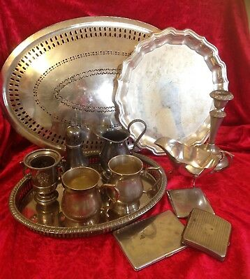 Job Lot / Collection of  silver plate items