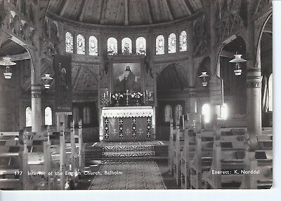 Norway - Interior Of The English Church, Balholm Unposted