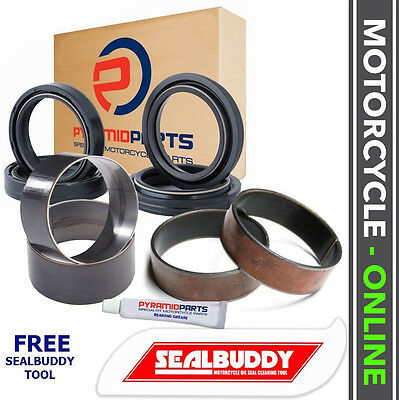Suzuki DR650 SE 96-16 Fork Seals Dust Seals Bushes Suspension Kit