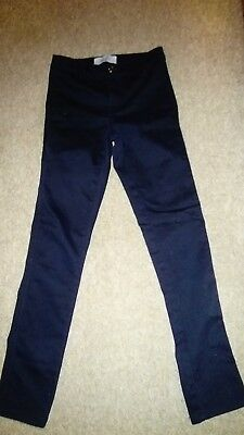 New Look 9-15 Generation Black Skinny High Rise Jeans age 11 Yrs worn once
