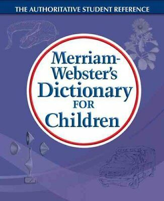 M-W Dictionary for Children by Merriam Webster,U.S. (Paperback, 2010)