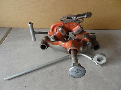 Ridgid 300 Pipe Threader Carriage Complete With Reamer Cutter Die Head
