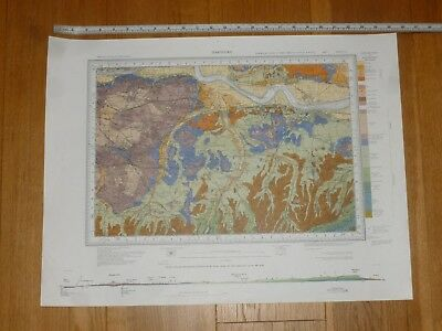 GEOLOGICAL MAP of DARTFORD - Sheet 271 - (Please see Photo's for Size)