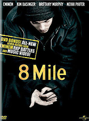 8 Mile (Widescreen Edition with Censored Bonus Features) DVD, Eminem, Brittany M