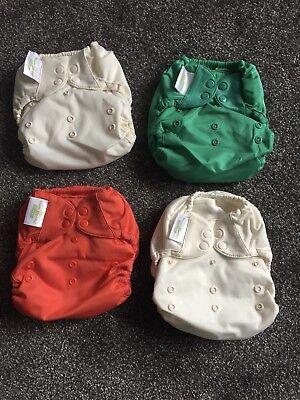 bumgenius elemental Organic Cloth Nappies One Size Bundle Poppers