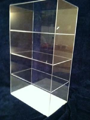 Acrylic Display Case Countertop 12 x 7 x 20.5 (different shelf spacing) Tabletop