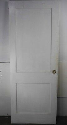 "Antique Vintage 2 Panel Interior Door 29-3/4"" X 76-1/4"" (H2) 1950's Local Pickup"