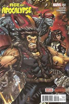 Age of Apocalypse (2015 series) #2 in Near Mint condition. FREE bag/board