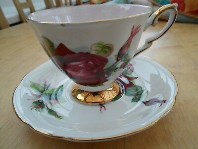 Royal Standard Harry Wheatcroft  World Famous Roses Cup & Saucer