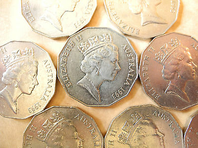 1993 50 Cent Coin - Lowest Mintage Circulation Coin