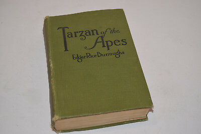 Tarzan of the Apes - E. R. Burroughs - First Edition - 1914