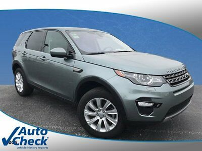 2017 Land Rover Discovery  2017 Land Rover Discovery Sport SE Approved Certified Low Miles