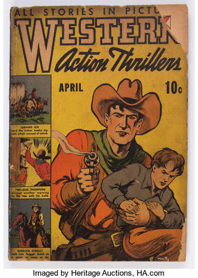 Western Action Thrillers #1  G- 1937 Scarce!!!