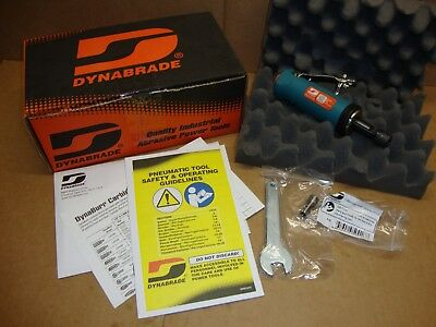 NEW Dynabrade 51303 .5HP Straight-Line Die Grinder 24,000-RPM Front Exhaust