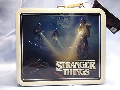 Stranger Things Metal Lunchbox Friends Don't Lie Limited Edition New Netflix HTF
