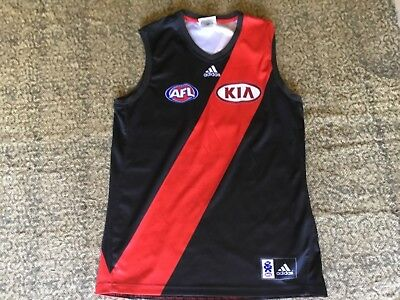 Official Afl Adidas Essendon Bombers Jumper Guernsey Mens Size Large