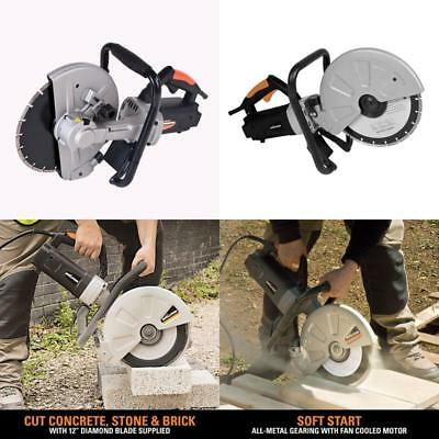 Concrete Cutter Tool Electric Brick Blocks Construction Masonry Circular Saw Cut