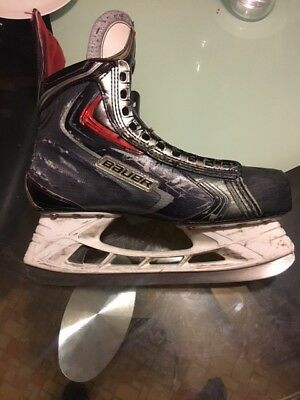 Mens senior Apx2 Hockey Skates, size 9.5 D plus brand new Bauer Speed plates