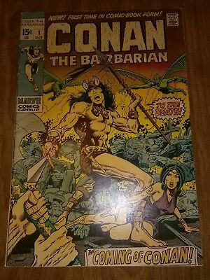 Conan The Barbarian 1 - Barry Windsor Smith - 1st Appearance in Comics - Solid