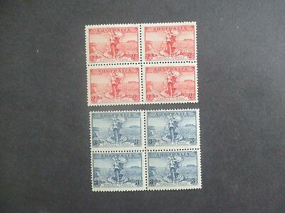 Pre decimal Stamps: Cable block of 4  Mint    (r186)