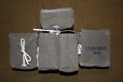 WWII 101st 82nd Airborne Paratrooper Ammo Rigger Pouches for M1 Garand/ Carbine