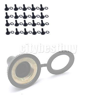 20x 12mm Toggle Switch WaterProof Rubber water Resistance Boot Cover Cap