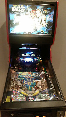 --- Flipper Pinball Williams Star Wars Episode 1 Perfect Conditions ---
