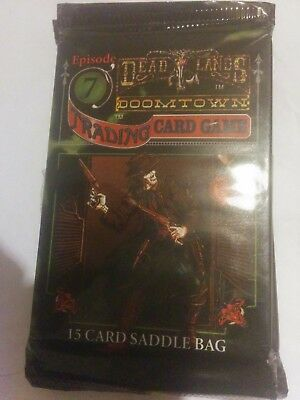 dead lands doomtown TCG new and sealed