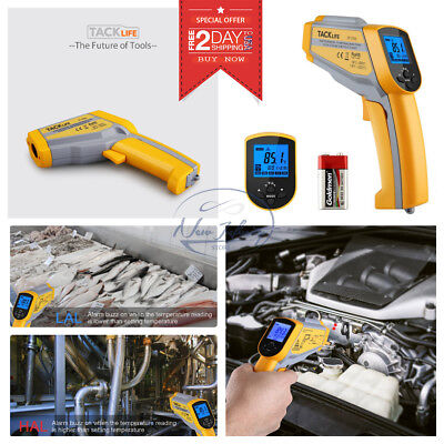 TEMPERATURE GUN NON-CONTACT INFRARED IR LASER Digital Dual Thermometer