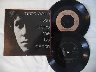 Marc Bolan.you Scare Me To Death.uk .original.pic Sleeve.