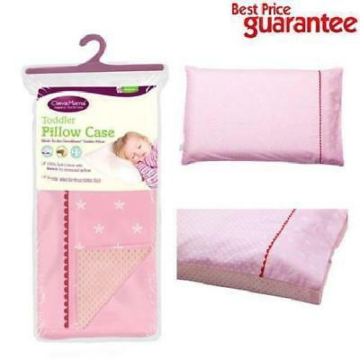 Baby Toddler Pillow Memory Foam ClevaFoam Head Support Pillow Case Cover