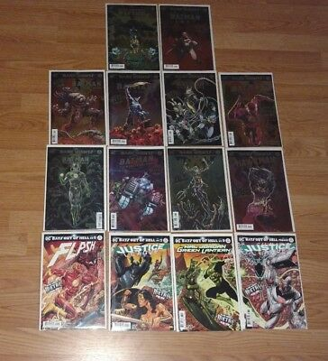 Dark Nights Metal Gotham Resistance 1-4 Teen Titans 12 Lot 5  Nightwing Cover A