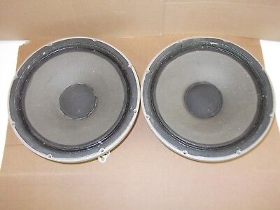 Rare Tannoy Vintage Gold Dual Concentric Speakers LSU/HF/15/8 - Made in England
