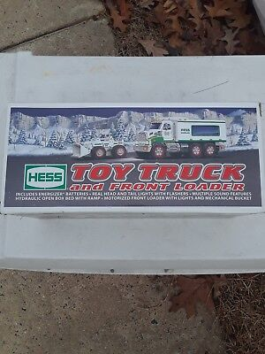"2008 Hess ""toy Truck And Front Loader""-New In Box **immediate Shipping**"