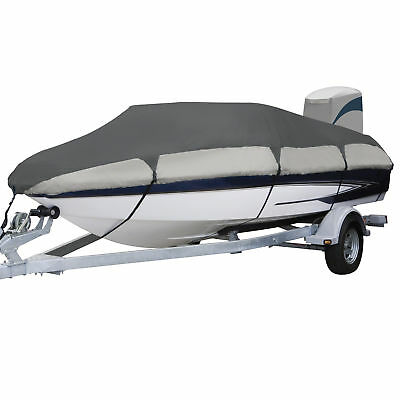 "Classic Accessories Orion Trailerable Boat Cover 17'-19' Long  Up to 102"" W"