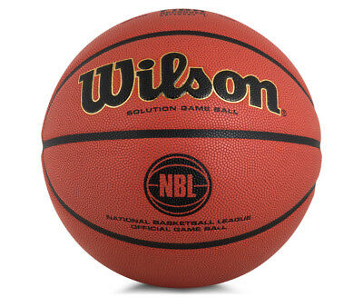 Wilson NBL Official Game Ball Official Size Basketball - Orange