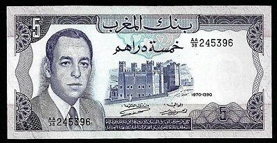 5 Dirhams From Morocco  Unc