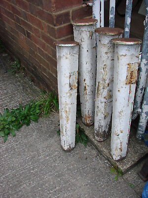 vintage industrial cast iron legs stands