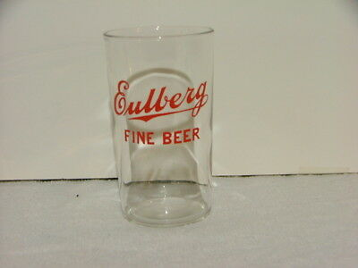 6 ounce Portage WI Eulberg Brewery beer glass