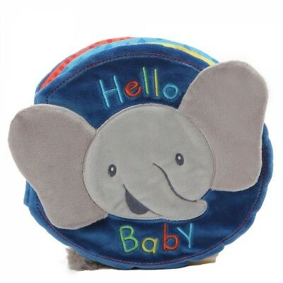 Baby Gund Flappy the Elephant Soft Plush Book New with tags