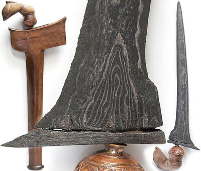BUGIS KERIS celebes BATU LAPAK tribal art dagger tribe sword Kris Indonesia