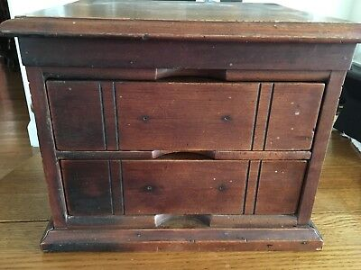 Antique Two-drawer Chest/Box