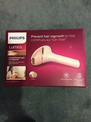 Philips Lumea BRI950/00 Prestige IPL Hair Removal Device for Body and Face New
