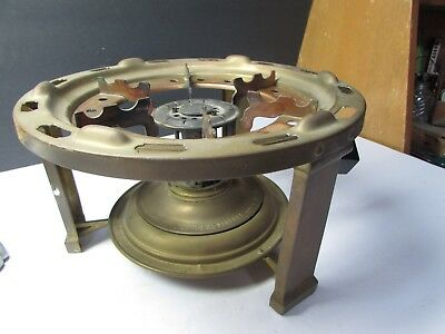 Vintage Manning Bowman 1910 Arts And Crafts Brass Alcohol Stove