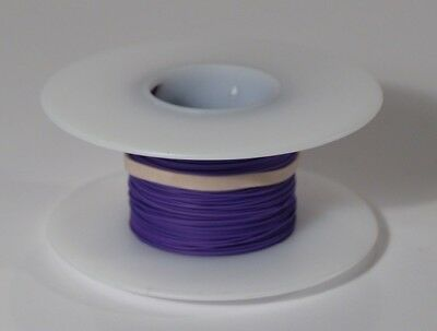 28 AWG Kynar Wire Wrap UL1422 Solid Wiremod type 100 foot spools VIOLET NEW!