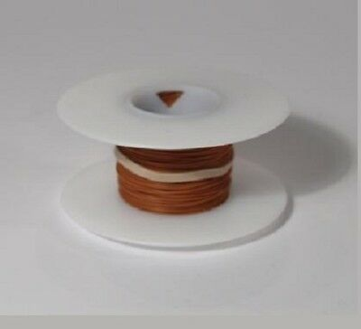 26 AWG Kynar Wire Wrap UL1422 Solid Wiremod type 100 foot spools BROWN NEW!