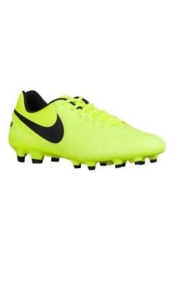 sale retailer d6646 b0651 Nike Mens Tiempo Genio II LEATHER FG Soccer Cleats Shoes Sz. 12 NEW 819213  707
