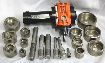"""(GC) iTool Co. Gear Punch Knockout Kit 1/2""""-2"""""""