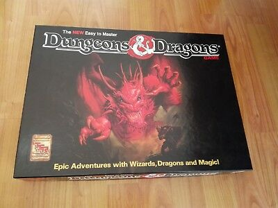 The New Easy To Master Dungeons & Dragons Game D&d Neuwertig Brettspiel
