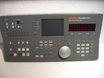 """Fostex"" Edit Controller für Foundation 2000"